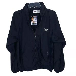 Reebok Vintage Mens Small Black Jacket